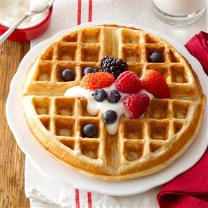 Family-Favorite Oatmeal Waffles Recipe