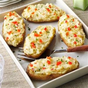 Fancy Baked Potatoes