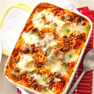 Watch Us Make: Baked Spaghetti
