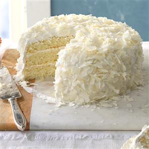 Favorite Coconut Cake Recipe