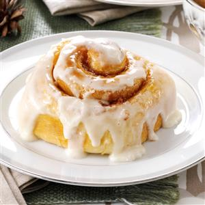 Favorite Frosted Cinnamon Rolls Recipe