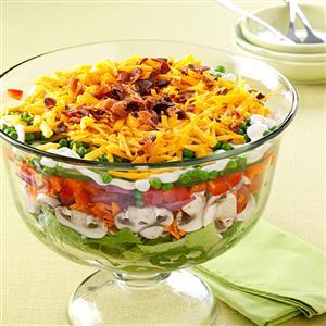Favorite Layered Salad Recipe