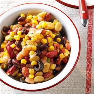 Festive Bean Salad Recipe