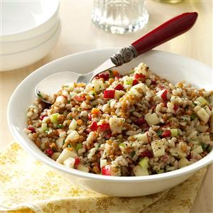 Festive Three-Grain Salad Recipe