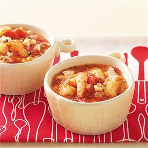 Feta  Shrimp Skillet for Two Recipe