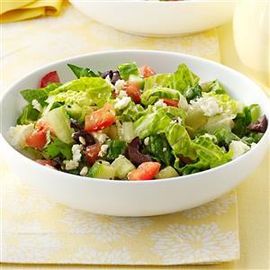 Feta Romaine Salad Recipe