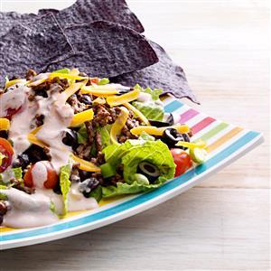 Fiesta Taco Salads Recipe
