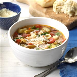 Fire-Roasted Tomato Minestrone Recipe