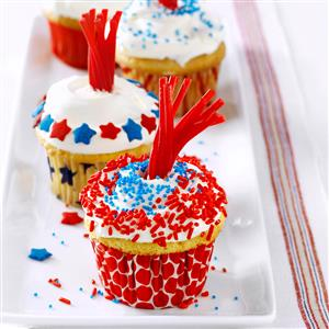 Firecracker Cupcakes Recipe