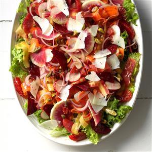 Flamboyant Flamenco Summer Salad Recipe