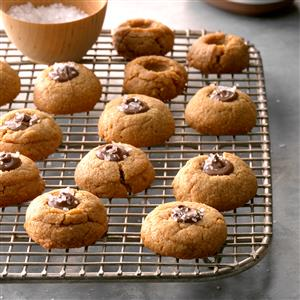 Flourless Peanut Butter Thumbprints Recipe