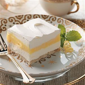Fluffy Lemon Pudding Dessert Recipe