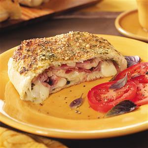 Fontina Ham Stromboli Recipe
