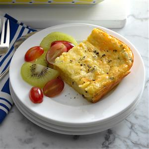 Four-Cheese Baked Eggs Recipe