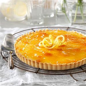 French Lemon-Apricot Tart Recipe