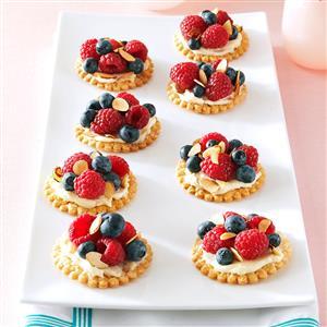Fresh Berry & Almond Tarts Recipe