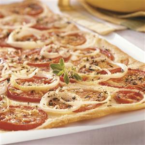 Fresh Tomato Flatbread Recipe