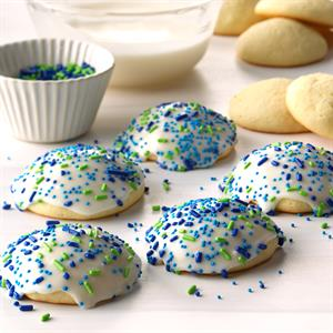 Frosted Anise Sugar Cookies Recipe