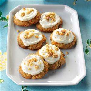 Frosted Carrot Cake Cookies Recipe