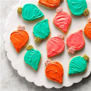 Frosted Cutout Sugar Cookies Recipe