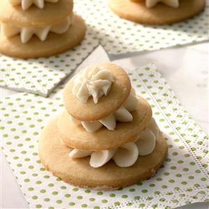 Frosted Maple Pyramids Recipe