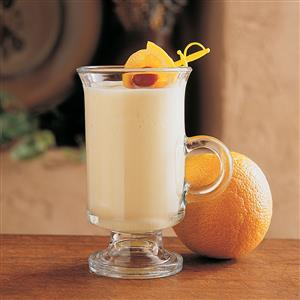 Frosty Orange Smoothie Recipe