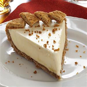 Frozen Maple Mousse Pie Recipe