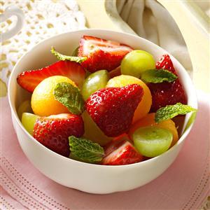 Fruit Cup with Citrus Sauce Recipe