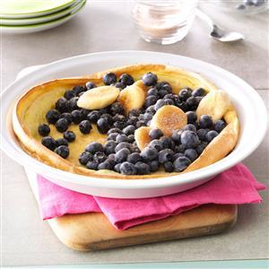 Fruit-Filled Puff Pancake Recipe