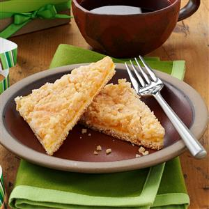 Fruit and Streusel Coffee Cakes Recipe