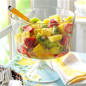 Fruit with Poppy Seed Dressing Recipe