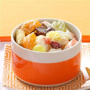 Fruity Crab Pasta Salad Recipe