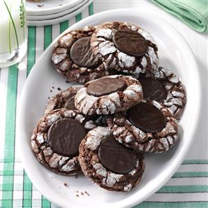 Fudgy Mint Cookies Recipe