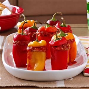 Game Day Miniature Peppers Recipe