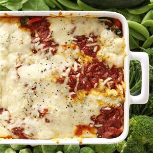 Garden Veggie Lasagna Recipe