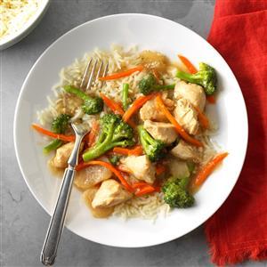 Garlic Chicken & Broccoli Recipe
