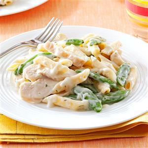 Garlic Chicken Penne Recipe