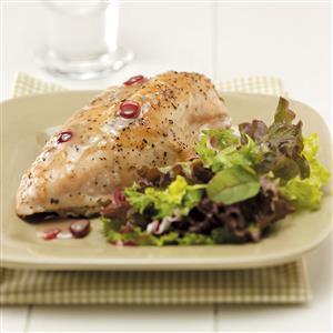 Garlic Cranberry Chicken Recipe