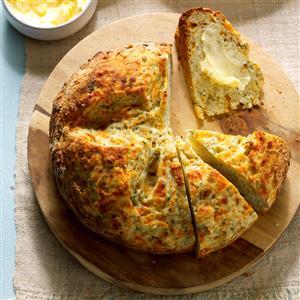 Garlic-Dill Soda Bread Recipe