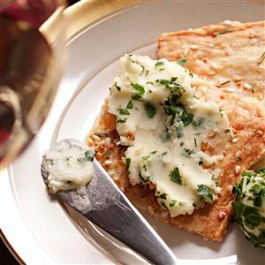 Garlic-Herb Mini Flatbreads Recipe