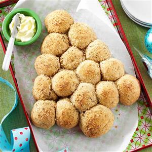 Garlic-Herb Parmesan Rolls Recipe