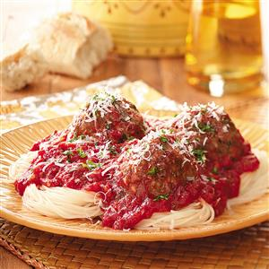 Garlic Lover's Meatballs and Sauce Recipe
