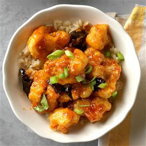 General Tso's Cauliflower Recipe