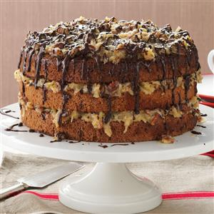 German Chocolate Cake Recipe Taste of Home