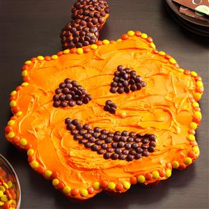 Giant Cupcake Pumpkin Recipe