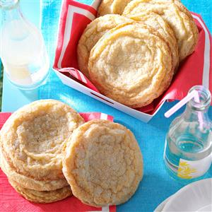 Giant Lemon Sugar Cookies Recipe