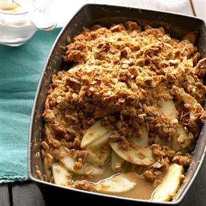 Ginger Apple-Pear Crisp Recipe