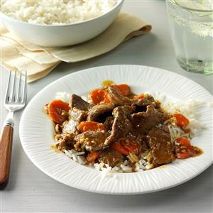 Ginger Beef Stir-Fry Recipe