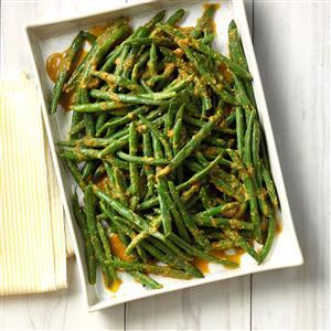 Ginger Green Beans Recipe