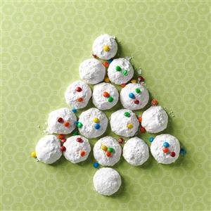 Ginger-Macadamia Nut Snowballs Recipe